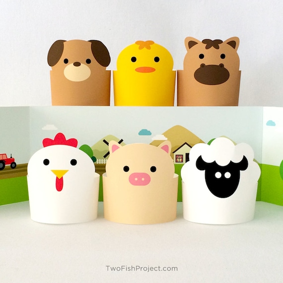 Paper Toy Diy Kids Toys Paper Animals Creative Toys For Etsy