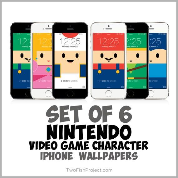 Artículos Similares A Nintendo Video Game Iphone Wallpapers