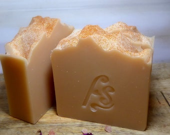Sandalwood.....traditional soap/cold processed soap