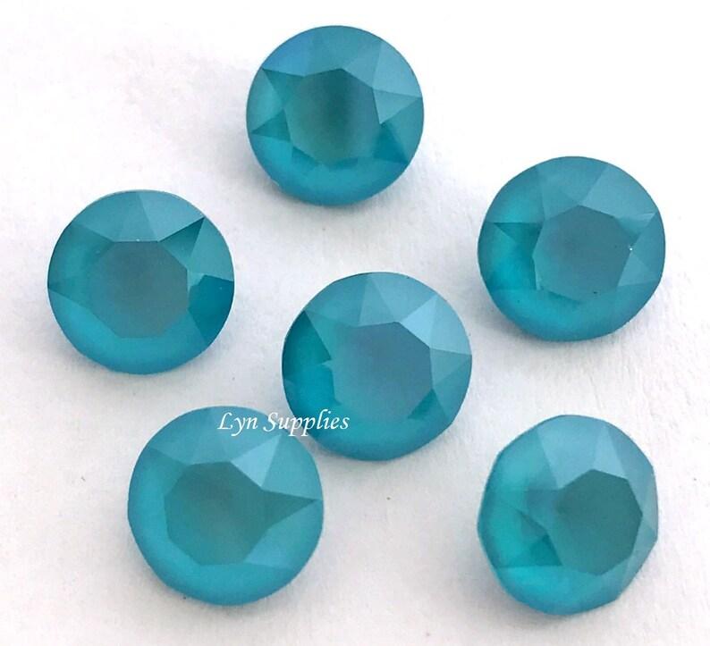 b0c7992ef 1088 ss39 AZURE BLUE Swarovski Crystal XIRIUS Chaton Pointed   Etsy