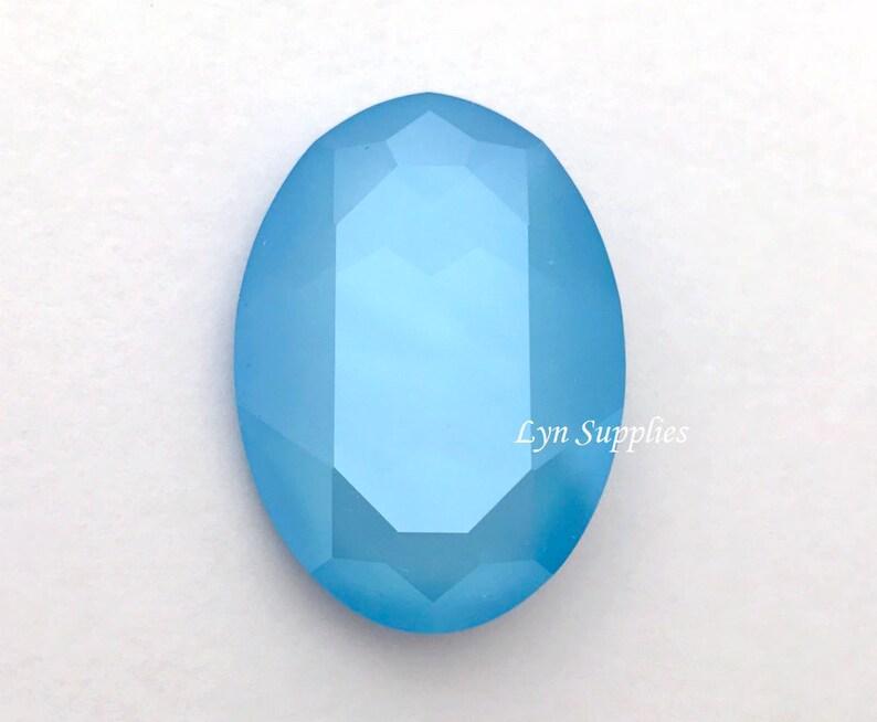 daa389238 4127 SUMMER BLUE 30x22mm Swarovski Crystal Oval Fancy Stone   Etsy