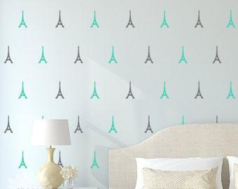Eiffel Tower Wall Decal / Eiffel Tower Sticker / Paris Wall Decal / Modern Wall Decor / Home Decor / gift