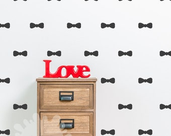Bow Wall Decal / Bow ties Wall Decal / Boys Room Sticker / Kids Wall Decal / Children's Room Decal / custom / removable vinyl / gift