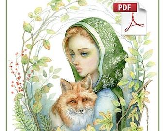 Colouring Fantasy Vol.3 PDF Colouring book by Scot Howden