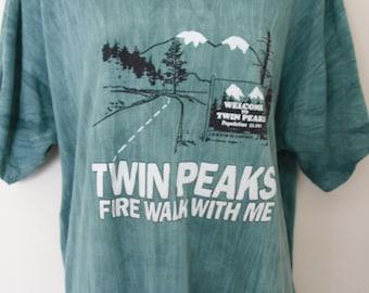 RARE 1990s Twin Peaks: Fire Walk With Me Shirt
