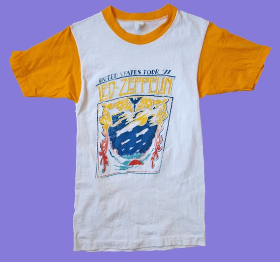 RARE Vintage 1977 Led Zeppelin Shirt