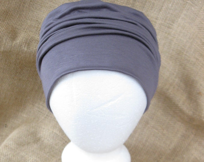 Order a Custom Sized Hat Bamboo Chemo Cap Headwear for Men or Women- Chemo Hat for Cancer Headwear and Slouch Beanie