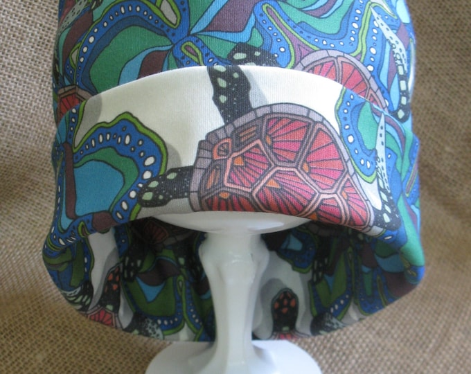 Hat Bohemian Organic All Natural 100% Cotton Tribal Beanie GOTS Certified Eco and Earth Friendly