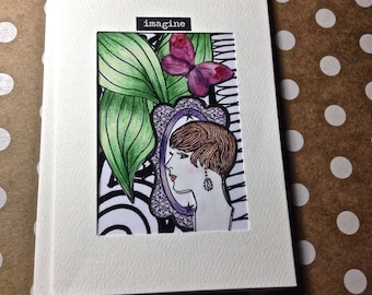 Artist Trading Card, Note Cards, Stationery