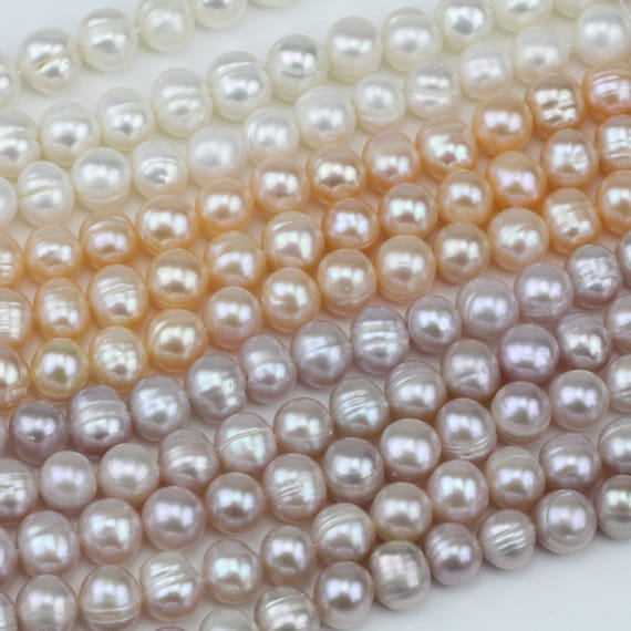 Choice of colour 8mm Pearls  pearl beads on a string
