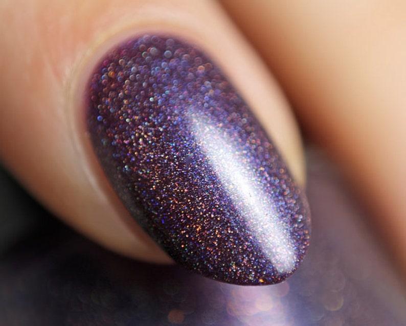 Unending Night  5 ml mini  blackened blue-purple linear image 0