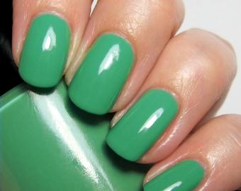 Lovely Rita - 5 ml mini - emerald green creme - indie polish by ALIQUID Lacquer