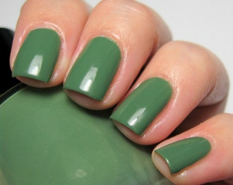 You Never Give Me Your Money - 15 ml - fern green creme - indie polish by ALIQUID Lacquer