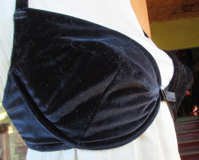 V90s 36D Black Velvet Victoria\u2019s Secret Bra