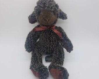 Russ Berrie Black Sheep Plush Toy