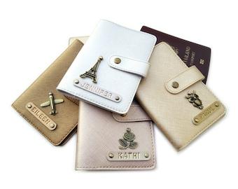 Hippo Design Real Leather Passport Holder Black Or Burgundy RFID Safari Gift 180