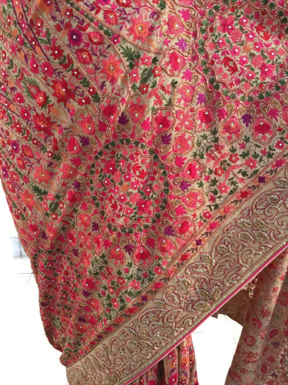 blouse cashmere ids01 pure wear piece georgette saree 01 saree handwork exclusive saree price for original xp8qw8SEZ