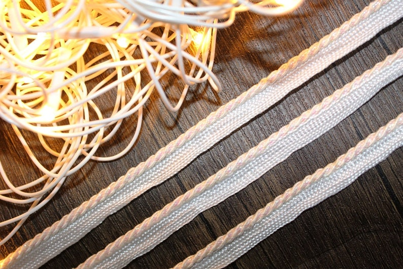 White skinny lace scarf & dupatta borderbeautiful decorative etsy