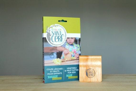 Montessori kitchen vegetable and fruit cutter Safe wooden kids knife wood children/'s chopper kitchen toy safe products for children