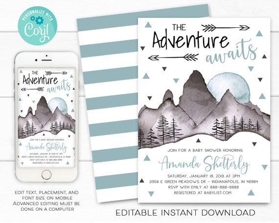 Adventure awaits.. BASIC 4-Page Planner Kit