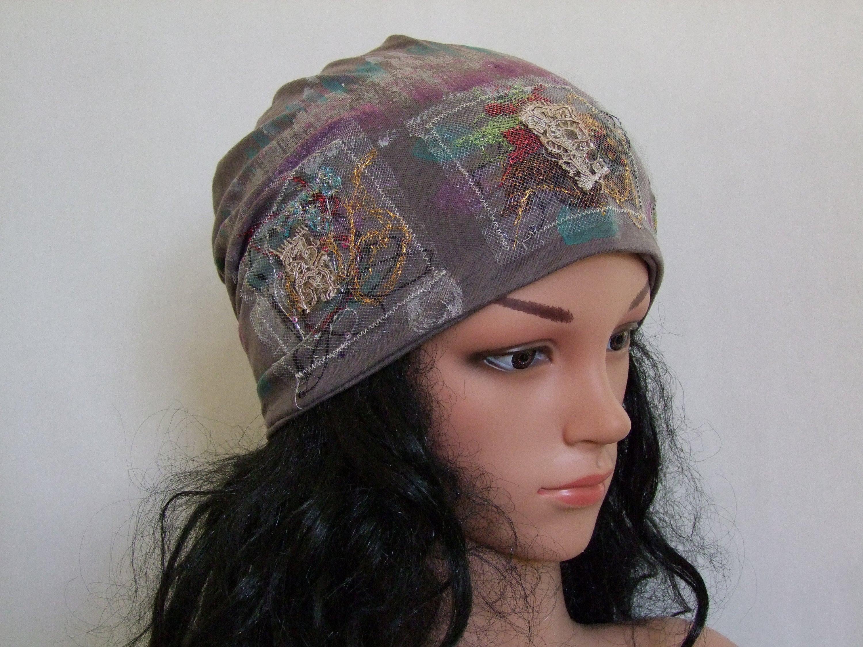 Tams Women Hat Chemo Headwear Chemo Beanies Chemo Hats  246acf7eb3d