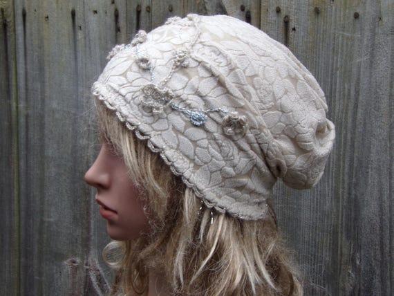 c9dace45c64 Tam Hat Women Beanie Hat Ladies Slouchy Hat Chemo hat