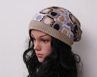 Tam Women Beanie Hat/ Beanie Chemo hat/ Cotton Hat Cancer Hats Best Beanies Chemo Headwear Tam Hat Handmade Hat
