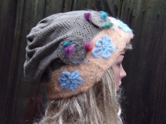 c637f4335dd Slouchy Women Beanie Hat Ladies Slouchy Hat Chemo hat