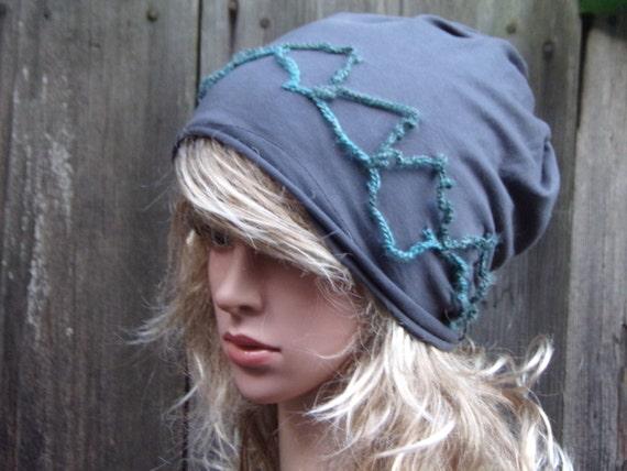 97ff540db54 Tam Women Beanie Hat Ladies Slouchy Hat Chemo hat Cotton