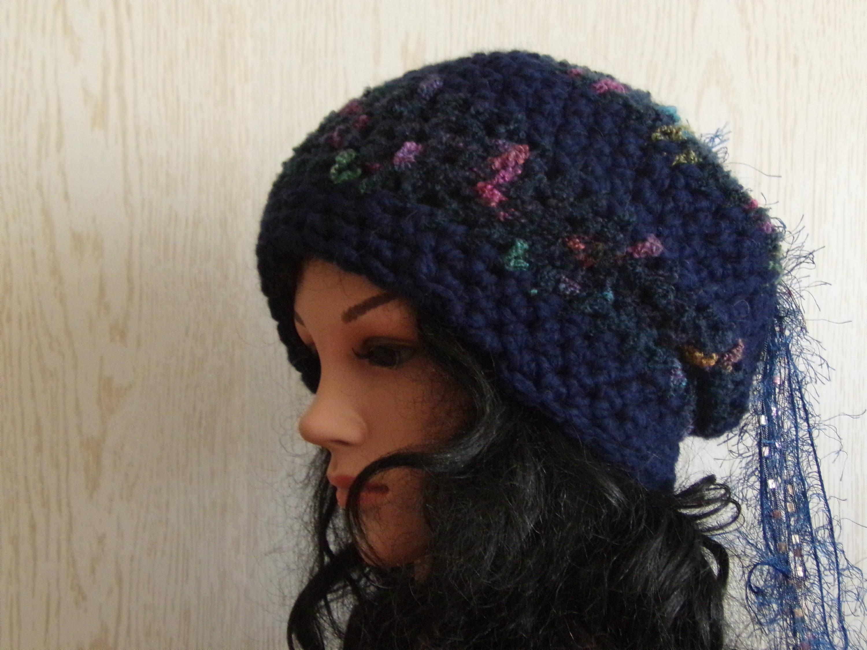 Wool Slouchy Beanie Hat Crochet Beanie Alpaca Hat Best  1ae1b01bb47