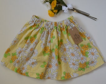 Gathered Skirt - Girl's Skirt - Skirt Size 6/7