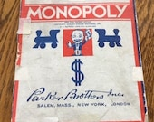 PRICE REDUCTION - Vintage Monopoly Game.