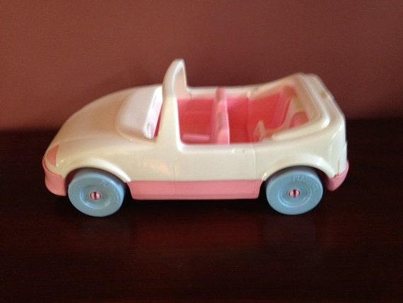 Vintage 1992 Playskool Pink Convertible For Dollhouse Loving Etsy
