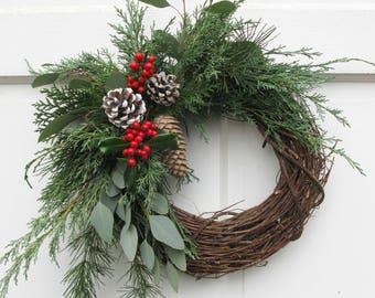 fresh holiday wreath natural fresh holiday wreath fresh christmas wreath