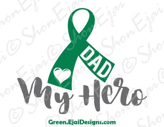 Liver Cancer Svg Liver Cancer Awareness Svg Green Cancer Etsy
