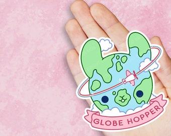 Globe Hopper Travel Vinyl Sticker