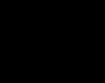 Kawaii Gingerbread Rudolph Vinyl Sticker