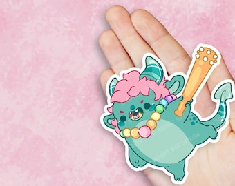 Kawaii Oni Sugar Demon Nugget Vinyl Sticker