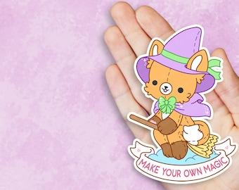 Make Your Own Magic Witch Vinyl Sticker