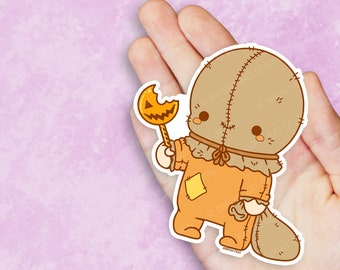 Kawaii Trick R Treat Sam Vinyl Sticker