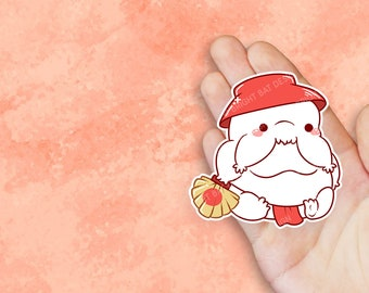 Kawaii Radish Spirit Sticker