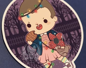 Kawaii Eleven Sticker