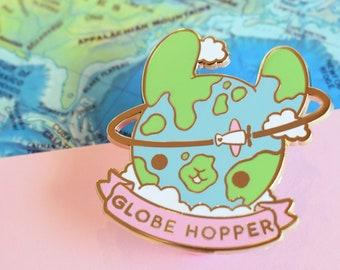 Globehopper Travel Enamel Pin