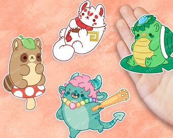 Glossy Stickers