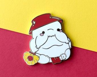 Kawaii Radish Spirit Ghibli Enamel Pin