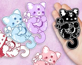 Kawaii Ouija Cat Stickers