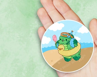 Creature Goes to the Lagoon - Monster Nugget Sticker