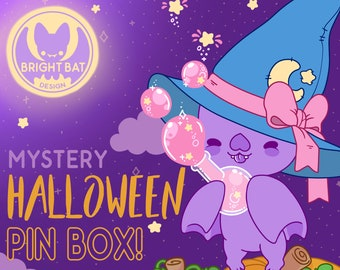 Kawaii Halloween Pin & Stationery Mystery Box