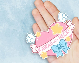Kawaii As Heck Sticker