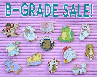 Seconds Sale - B Grade Kawaii Enamel Pins